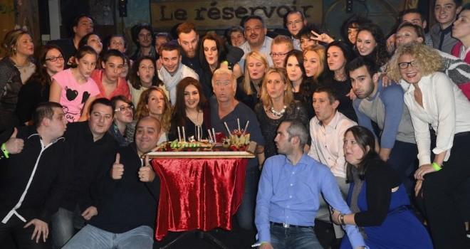 Franck Dubosc fête son anniversaire au Réservoir